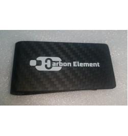 Signature Carbon Fiber Money Clip – 100% carbon fiber black twill with Matte finish